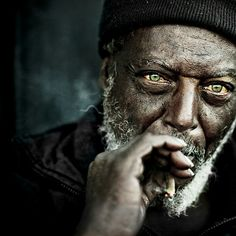 L'uomo con i verdi occhi...