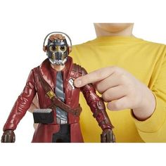 "Guardians Of The Galaxy Battle Fx Star-Lord 12"" Action Figure Gift Kids Toy  #SmartToys"
