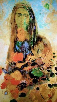 """Odilon Redon 1840 - 1916 """" Mystery """""""