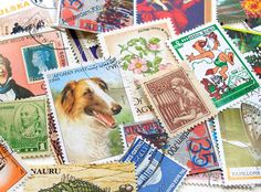 Purchase a book of stamps while at the post office and ask the clerk to give them to a random customer that need it with a card full of my best wishes