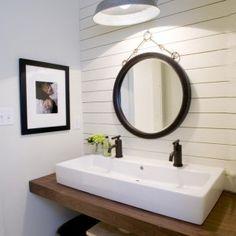 Double Trough Sink Bathroom #EasyNip