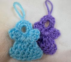 Kaitlin's Angels: Kaitlin's Angel ... Crochetted Angel