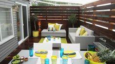 La terrasse après - La terrasse de Patrice Coquereau Outdoor Furniture Sets, Outdoor Decor, Outdoor Living Areas, Decoration, Backyard, Cabot Trail, Architecture, Patrice, Porche