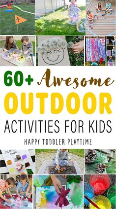 Outdoor Activities For Toddlers, Outside Activities, Kids Learning Activities, Summer Activities For Kids, Crafts For Kids, Preschool Garden, Toddler Preschool, Preschool Ideas, Outdoor Play Areas