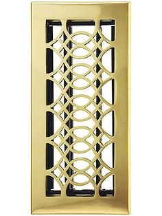 Floor Registers. Strathmore Solid Brass Floor Register With Adjustable Louver