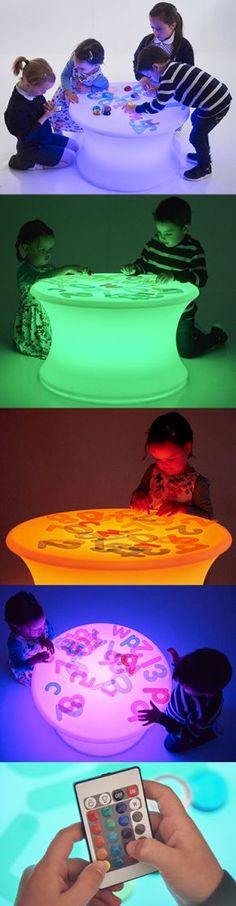 Sensory Light Table Sensory Lights, Under The Sea Party, Light Table, Infant, Nursery, Baby, Lightbox, Room Baby, Child Room