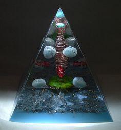 Aqua Marine Turquoise kyanite custom pyramid by mclewis96996, via Flickr