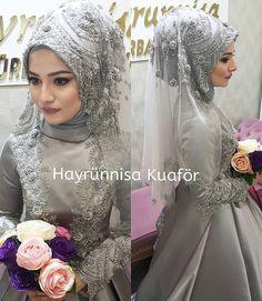 Muslim Wedding Gown, Hijabi Wedding, Disney Wedding Dresses, Muslim Brides, Pakistani Wedding Dresses, Bridal Dresses, Wedding Gowns, Bridal Hijab, Hijab Bride