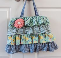 Bag made from A Beautiful Thing by Zoe Pearn for Riley Blake Designs #rileyblakedesigns #abeautifulthing #zoepearn