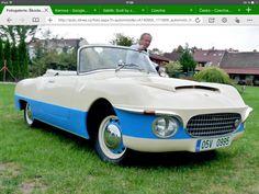 Škoda 440 Karosa from rare car from Czechia Retro Cars, Vintage Cars, Antique Cars, Funny Looking Cars, Fiat 500, Seat Cupra, Veteran Car, Car Camper, Cabriolet