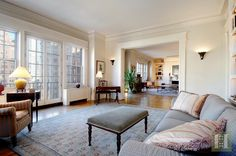 Gramercy Park Grandeur ...  Home is where the hearth is!  Elegance and six fireplaces await you in a White Glove Georgian Revival Style building, on Gramercy Park (key to Park).  This amazing 4 Bedroom has 4 exposures and magnificent views. More at www.halstead.com/16018435.