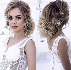 Wedding Hairstyles for Long Hair - Guide Bridal Short Wedding Hair, Wedding Hair Down, Wedding Hairstyles For Long Hair, Formal Hairstyles, Bridal Hairstyle, Undercut Hairstyles, Weave Hairstyles, Hairstyles Videos, Medium Hair Styles