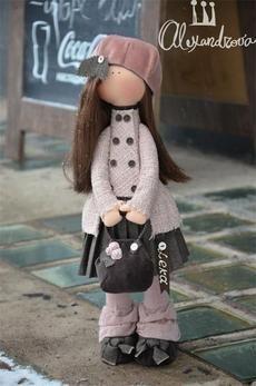 Авторская кукла Татьяны Александровой: LEKA