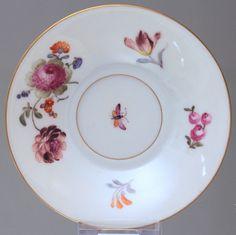 Zürcher Manufaktur um 1790: Mokkatasse mit Blumen, Zürich, Tasse, Klassizismus in Antiquitäten & Kunst, Porzellan & Keramik, Porzellan   eBay