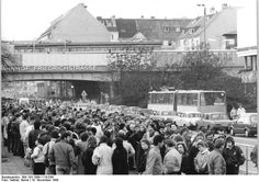 Berlin Friedrichstrasse 11th November 1989 it was crazy to witness
