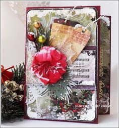 Margyz Paper Games: Christmas Cards - Variations on a Theme #1