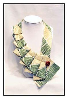 repurpose velvet jacket | SeaGreen Unique Repurposed Necktie Art Accessory by stylesbyana, $29 ...