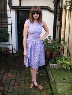 Our 'Cash & Fashion Conscious' blogger does second hand summer in style