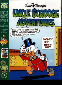 SEALED Walt Disney's Uncle Scrooge & Donald Duck Comics CARL BARKS Library of Uncle Scrooge McDuck Comics Stories in Color #7 N M With Card