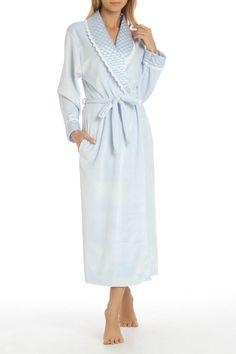 a169dd87736 Phyllis Shawl Collar Robe In Blue