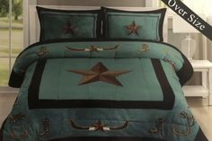 Western Comforter Sets, Bedding Sets, Teen Boots, Cozy Corner, Blanket Cover, Bed Covers, Pillow Covers, King Size Pillow Shams, Queen Size