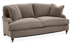 Brooke Sleeper Sofa, Café Crypton - One Kings Lane - Brands Sleeper Sofa, Sectional Sofa, Sofas, New Furniture, Online Furniture, Small Rooms, Small Spaces, Neutral Sofa, Silhouette Frames