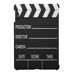 Lights Camera Action - iPad Mini Case