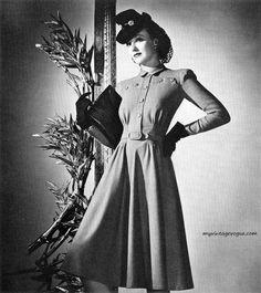 Para inspirar: moda na década de 1930                                                                                                                                                                                 Mais