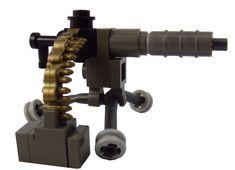 Custom LEGO Military Soldier Equipment Deluxe WW1 Machine Gun - Brick Brigade LLC