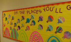 dr. seuss bulletin boards and door ideas | Valdez's Dr Seuss bulletin board | Bulletin Board Ideas