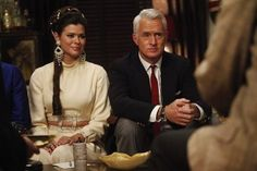 Jane and Roger Sterling - Mad Men - Far Away Places