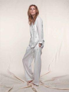Tuxedo Stripe Pajama - Cotton / C030 | Loup Charmant #stylingmrsoliver.com