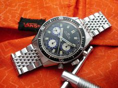Fortis Marinemaster 8001 Blue by stewmorley, via Flickr