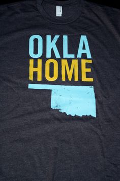 OklaHome Tshirt - this lady is donating 10% of sales to tornado relief. Company out of Stillwater.