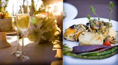 PureJoyCatering.com santa barbara  Grilled White Sea Bass withPine Nut Brown Butter scalloped potatoes, photo by Tobin Photography featured on