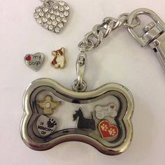 Memory Locket Key Rings are a lovely way to carry the things you love around with you wherever you go   ...and what could be better than a Memory Locket for Dog Lovers  We have something for everyone; www.locketswithlove.co.uk