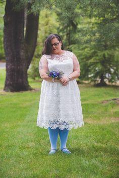 Cheri + Rachel's Same Sex Morris Museum Wedding || New Jersey Weddings || BG Productions Photography || www.bgproonline.com #bluetights