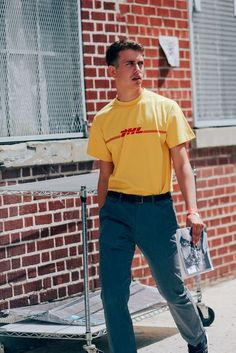 The Best Dressed Men from New York Fashion Week Photos   GQ   DHL Prints