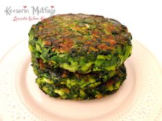 Spinach Burger Recipe | Turkish Style Cooking