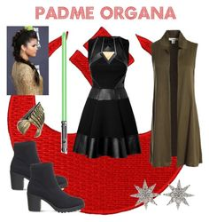"""Star Wars OC Padme Organa (Read Description)"" by stargirl234 on Polyvore featuring art, OC, starwars, sister, twin and nextgeneration"