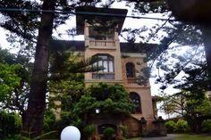 Villa Argentina, otra de las casonas de la Playa de Santa Marina en Ribadesella