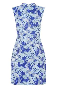 Sixties inspired shifts are everywhere this season and no wonder, they are flattering, easy to wear and look so striking worn with a statement floral. Give this one a go and you will see what we mean.