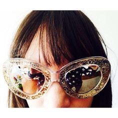 Karen Walker knows fashion girls need sunglasses all year round! MATCHESFASHION.COM #MATCHESFASHION