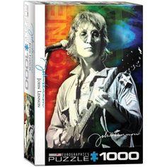 John Lennon New York 1000-Piece Puzzle, Multicolor