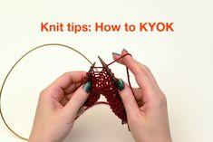Knit Tips: KYOK increases