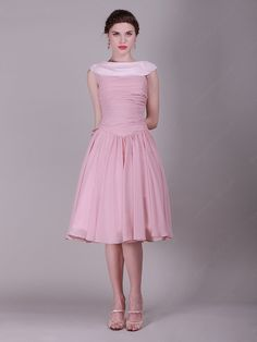 Pink Pleating Prom Dress Shop uk