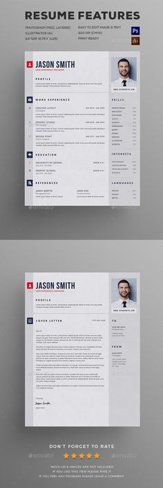 Modern Resume Template from Resume Foundry This resume is sure to