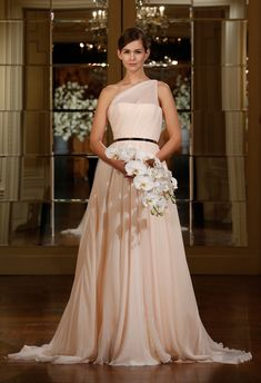 Romona Keveza Spring 2015 Wedding Dresses - The Knot Blog
