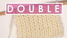 DOUBLE STOCKINETTE Knit Stitch Pattern
