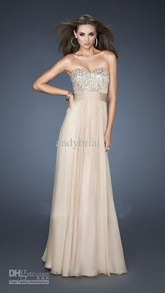 Wholesale Shimmery Purple and Champagne Chiffon Sweetheart Sequin Long Cheap Prom Dresses 2013, Free shipping, $113.12-129.99/Piece | DHgate